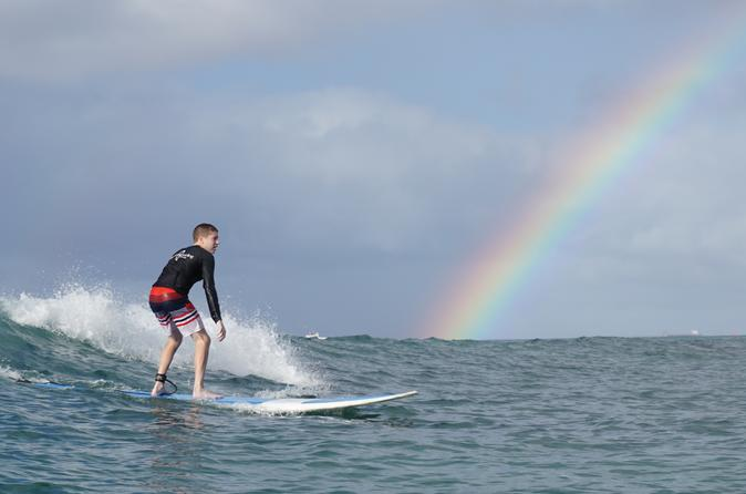 Private 2-Hour Surfing Lesson in Honolulu