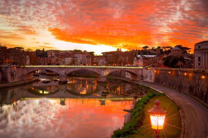 Rome Romantic Sunset Aperitif in Jewish Ghetto Italy, Europe