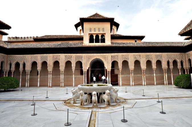 Alhambra Ticket with Audio Guide including Nasrid Palaces