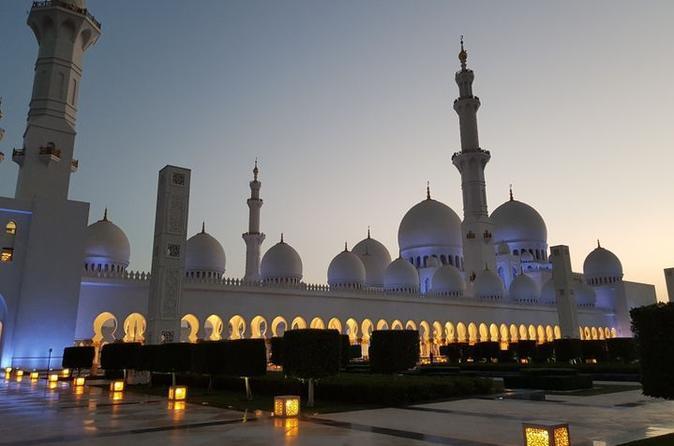 Excursão de dia inteiro na Cidade de Abu Dhabi saindo de Dubai