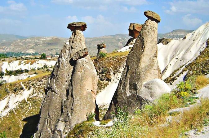 Wonders of Cappadocia: Kaymakli Underground City and Red Valley Hiking Tour