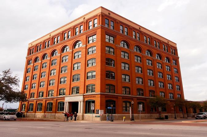 Admission to sixth floor museum at dealey plaza in dallas 156005