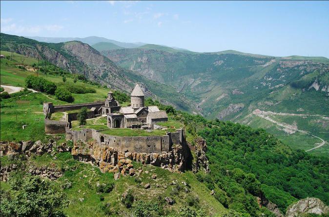 Full-Day Trip to Areni Winery, Tatev Monastery and Shaki waterfall from Yerevan