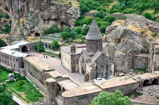 Small group day trip from yerevan to garni temple geghard monastery in yerevan 329315