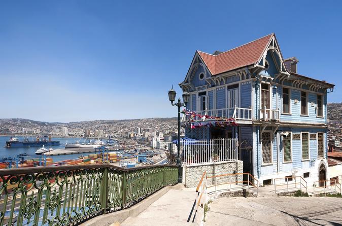 Excursão particular: Excursão a pé pela cidade de Valparaiso