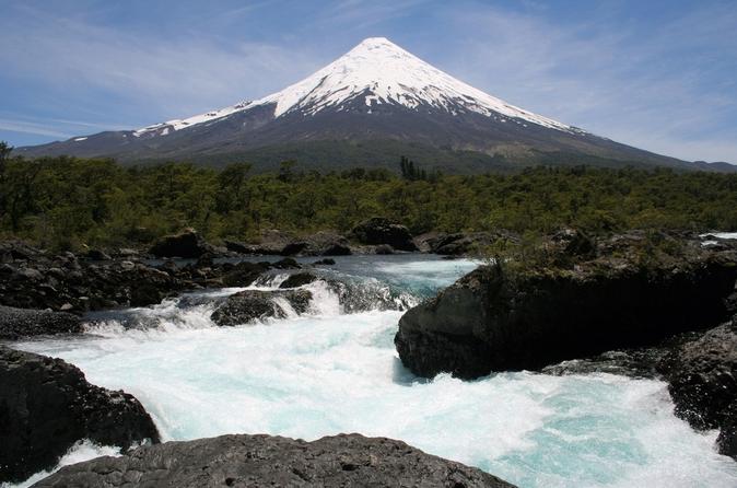 Excursão terrestre em Puerto Montt: Excursão pelas Cataratas de Petrohué