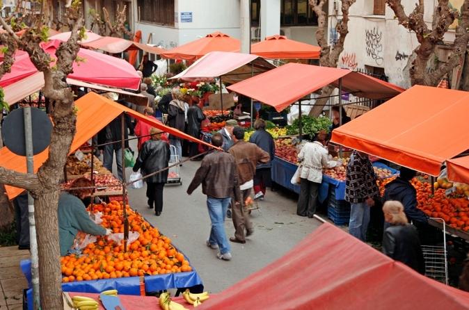Santiago como um cidadão local: excursão privada a pé com café, mercados, comida de rua e Morro de San Cristobal
