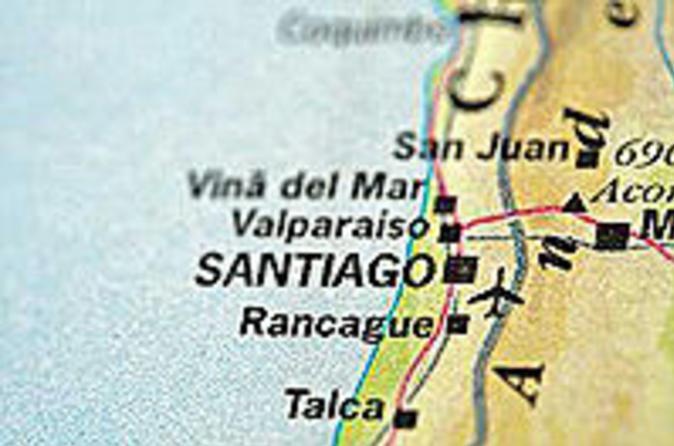 Transfer de chegada privado do aeroporto de Santiago