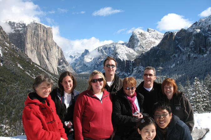2-Day Yosemite National Park Winter Tour from San Francisco