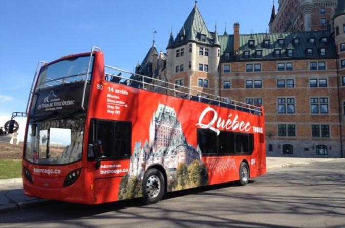 Excursão com várias paradas na cidade de Quebec