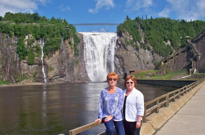 Half day trip to montmorency falls and ste anne de beaupr for Quebec city places to visit