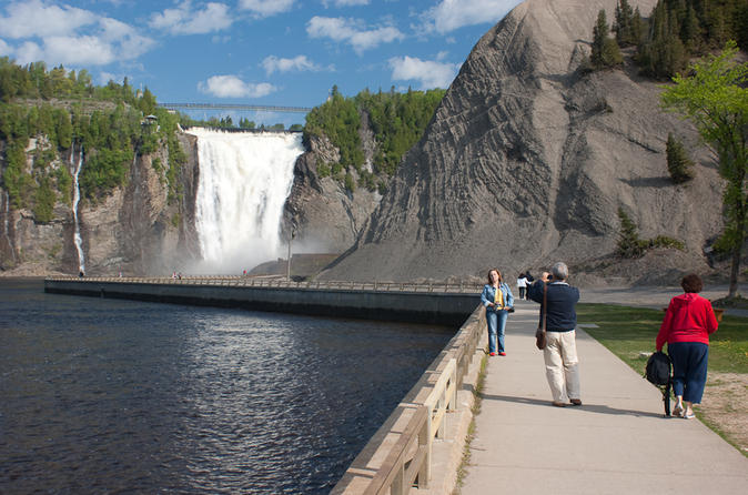 Quebec city shore excursion half day tour to montmorency falls and in quebec city 104357