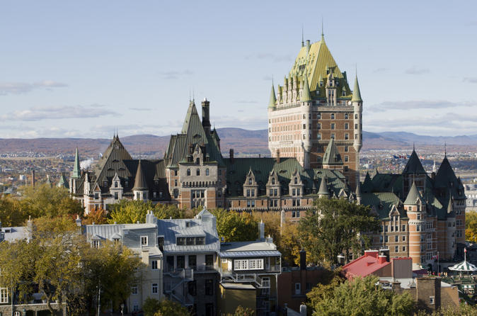 Tour panoramico di Quebec City