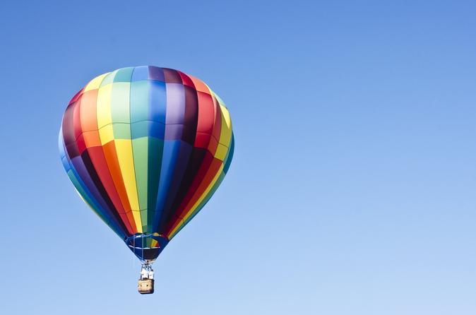 Park city sunrise hot air balloon flight in park city 333963