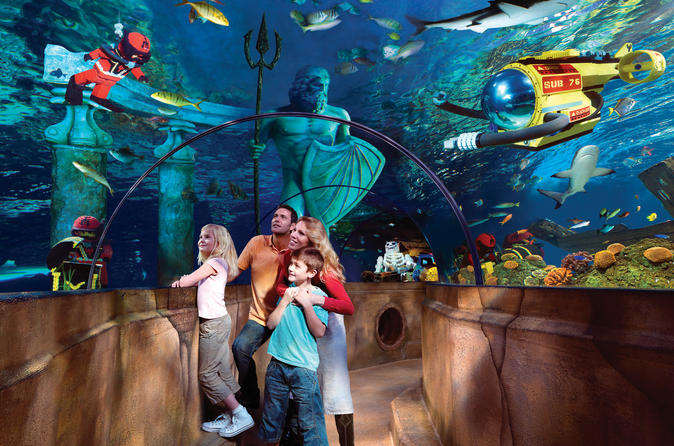 Legoland with SeaLife Aquarium with Transportation from Anaheim