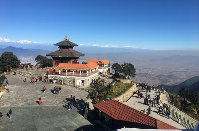 Private Hill Station (Chandragiri Hill) Trip with Rope Way from Kathmandu Nepal