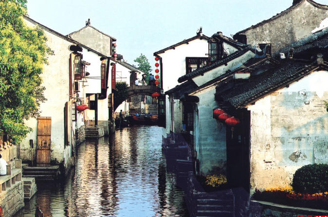 Private tour: Shanghai Zhouzhuang water town tour