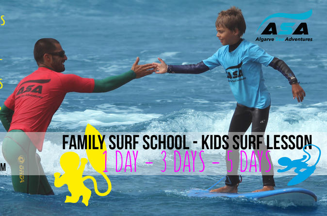 Family And Kids Surf School - Lagos