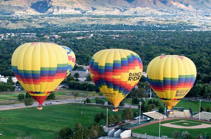 Colorado springs sunrise balloon ride in colorado springs 321256