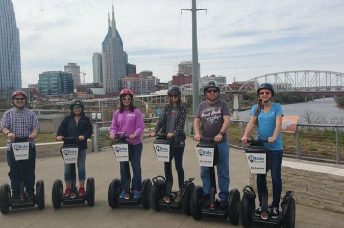 Downtown nashville segway tour in nashville 334600