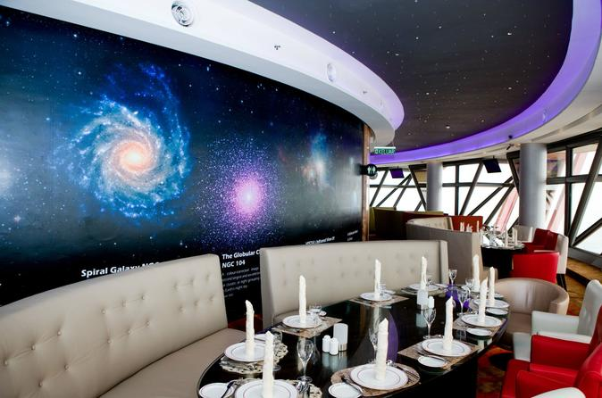 DINING IN THE CLOUDS ABOVE KL CITY - Kuala Lumpur