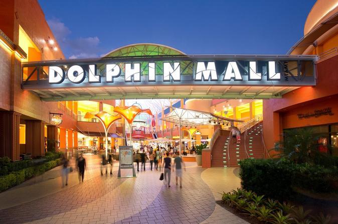 Dolphin Mall Shopping Day Tours Round Trip - Miami