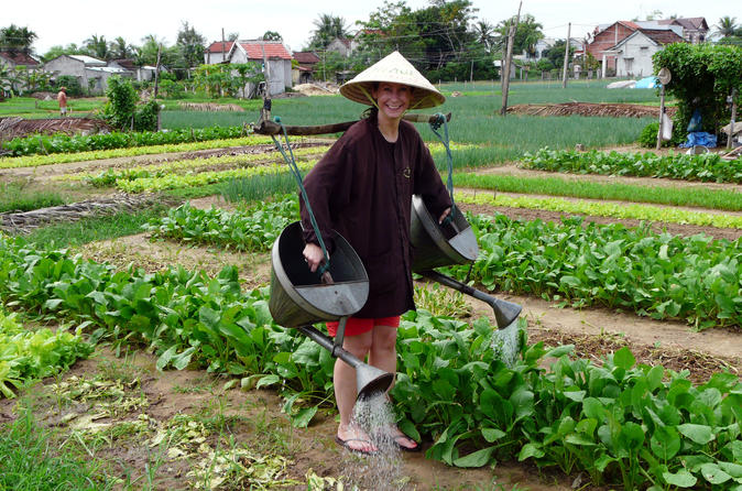 Private Tra Que Vegetable Village Half Day - Hoi An