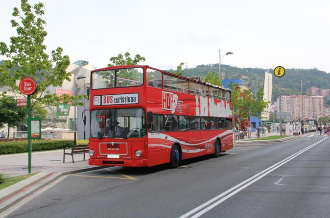 Bilbao city hop on hop off tour in bilbao 177408
