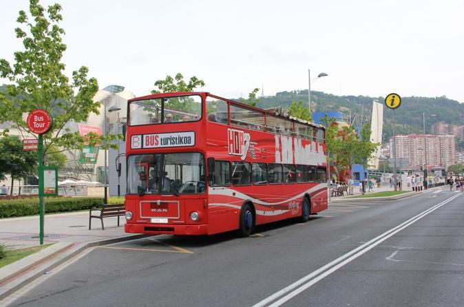 Recorrido en autobús con paradas libres por la ciudad de Bilbao