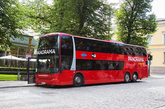 Excursão com áudio turística panorâmica de Helsinki