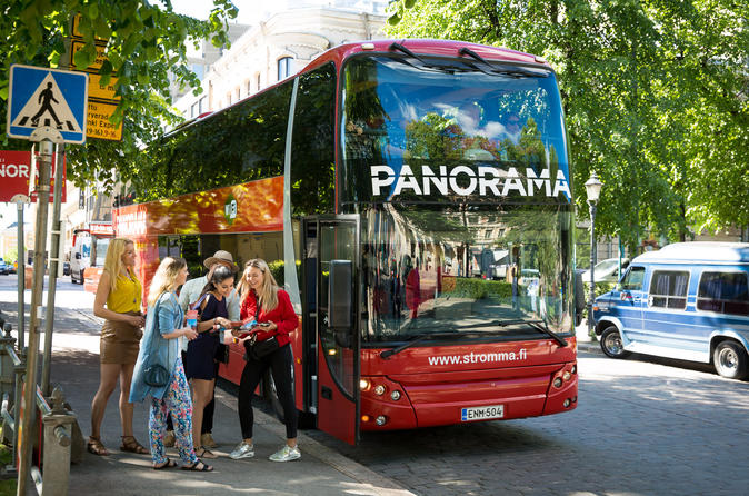 Helsinki Panorama Sightseeing Audio Tour