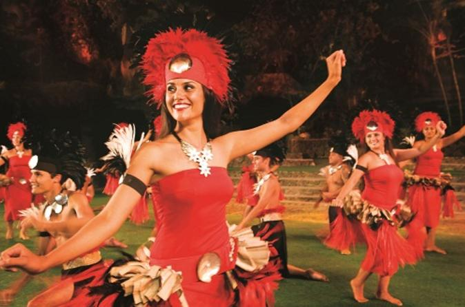 Entrada geral no Centro Cultural da Polinésia