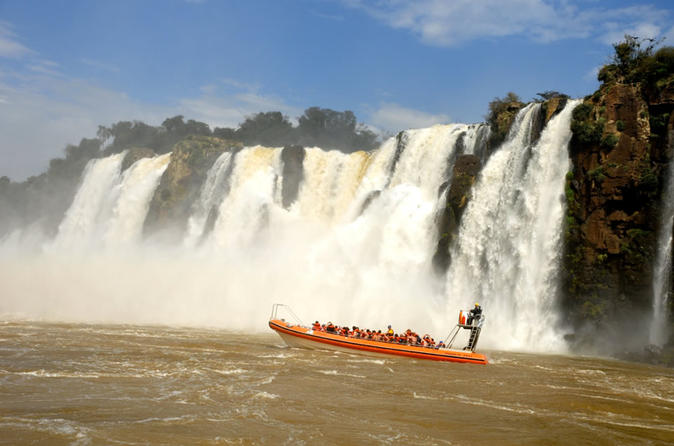 Full day iguazu falls argentian and brazilian side with boat ride to in puerto iguaz 345104