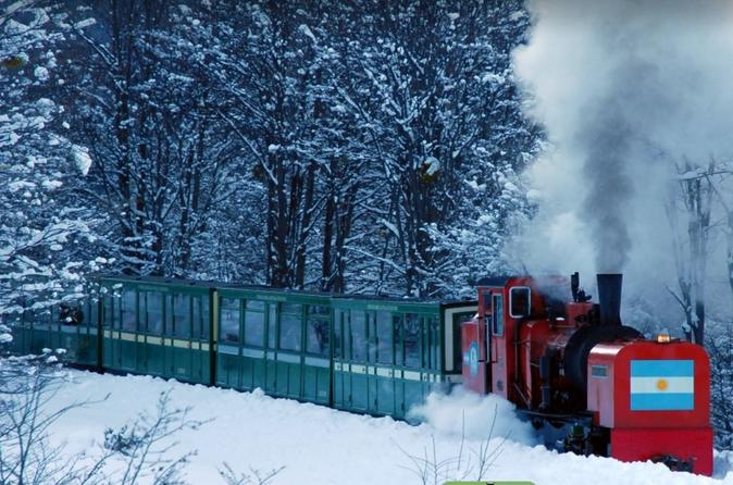 Train Of The End Of The World From Ushuaia (Tierra Del Fuego National Park)