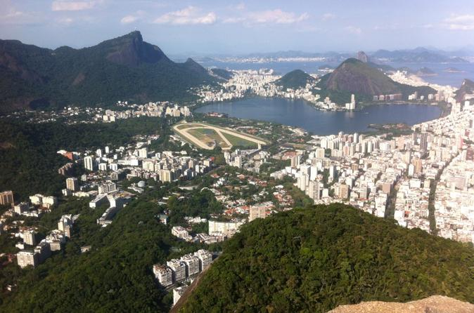 Biking and hiking tour from copacabana to two brothers hill in rio de janeiro 323059