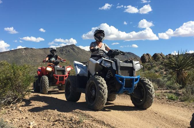 Hidden Valley ATV Half-Day Tour from Las Vegas