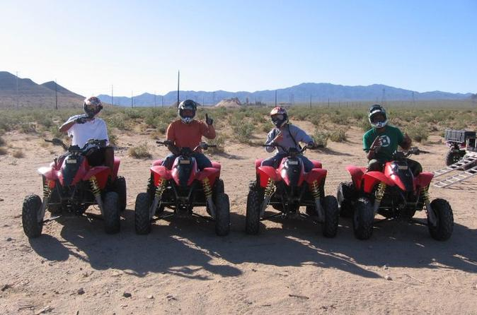 Hidden Valley und Primm ATV Tour