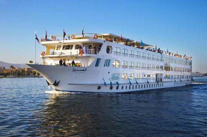 Nile Cruise for 4 days 3 Nights from Luxor to Aswan incloding sightseen