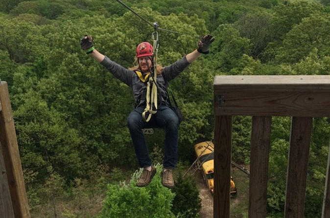 The ultimate zip line adventure in bonner springs 328625
