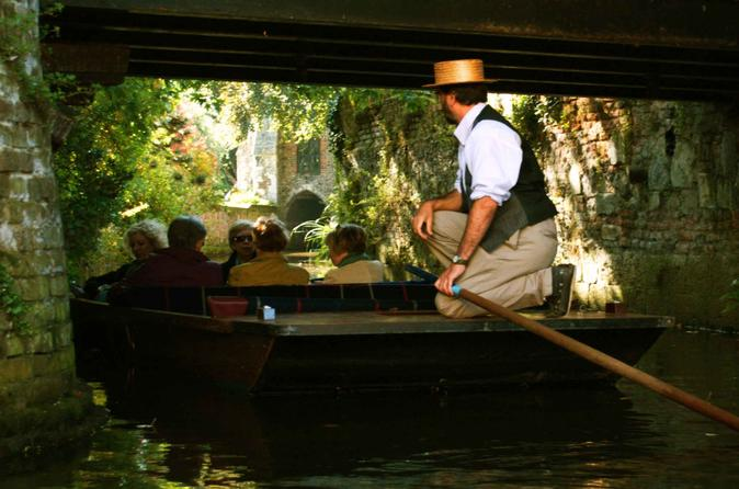 45 minute punting tour in canterbury in canterbury 324111