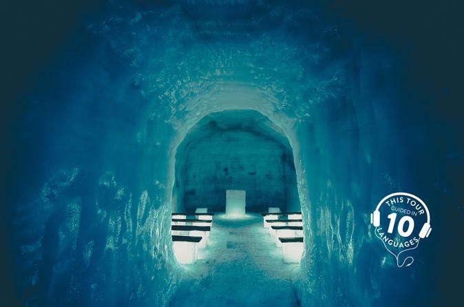 Classic Ice Cave Experience from Reykjavik with Live Guide and Touch-Screen Audio Guide