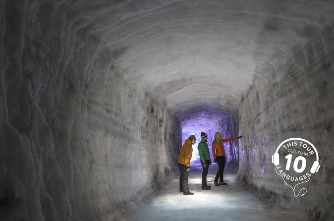 Ice Cave and Snowmobile Tour of Langjökull Glacier from Reykjavik with Live Guide and Touch-Screen Audio Guide