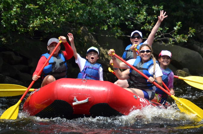 Family Style Whitewater Rafting Adventure