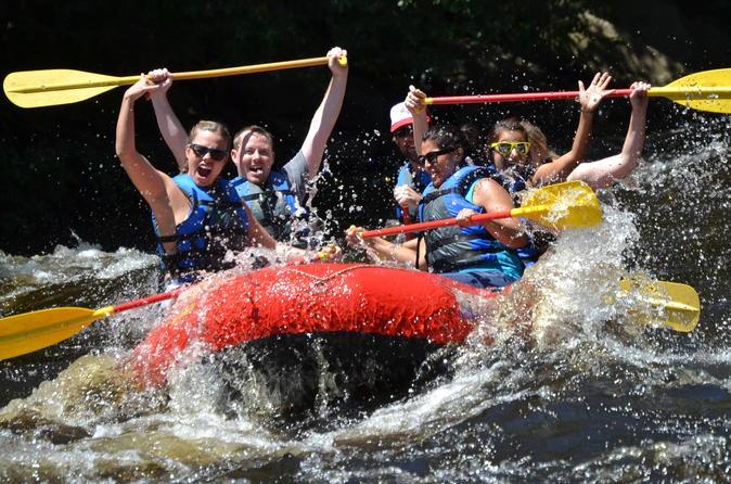 Weekend Dam Release Whitewater Rafting Adventure