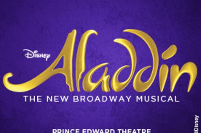Aladdin The Musical Theater Show em Londres