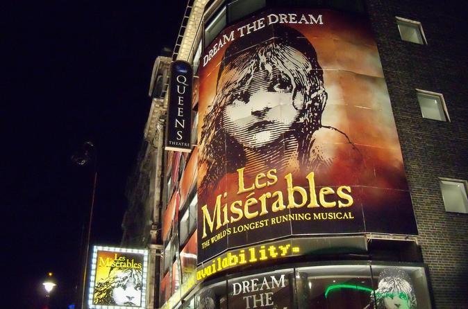 Espetáculo Les Miserables
