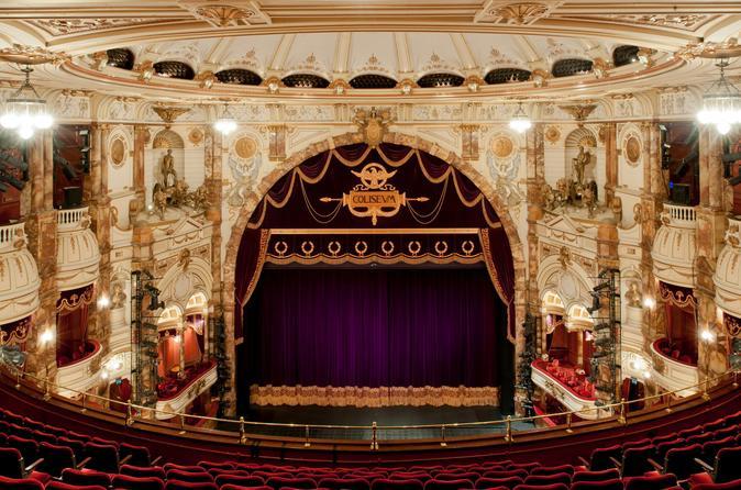 London Coliseum Backstage Theater Tour