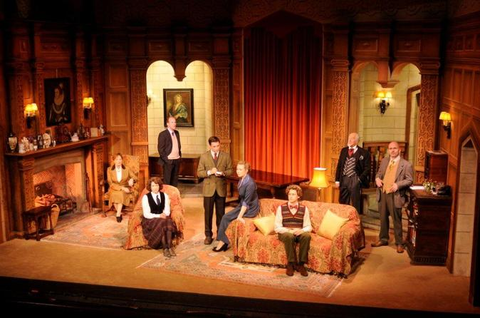 Teaterforestillingen The Mousetrap i London