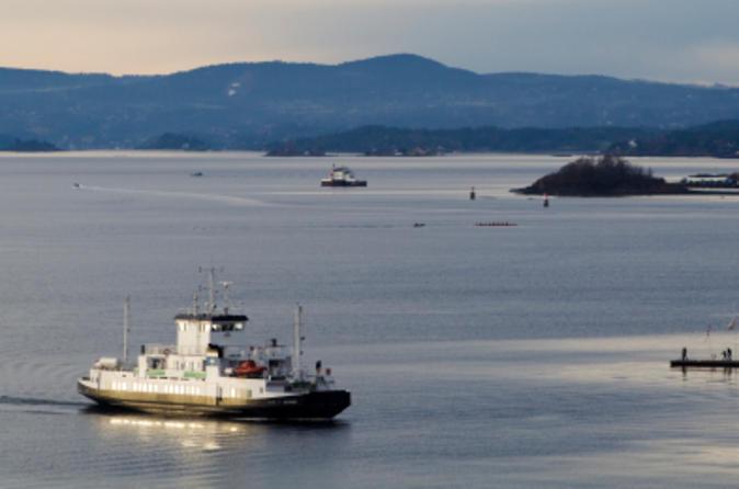 Excursão Terrestre em Oslo: Cruzeiro turístico de 2 horas pelo Fiorde de Oslo