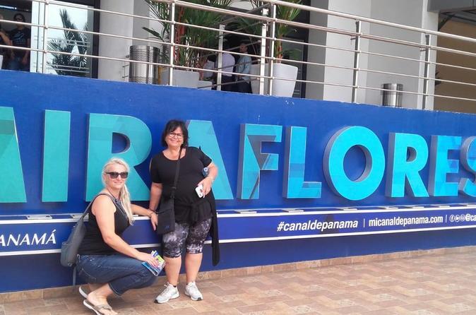 Transfer to Panama Canal (Miraflores Locks)